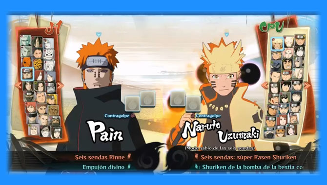 Naruto Shippuden Ultimate Ninja Storm 4 Mugen V2.0 - Mugen Download